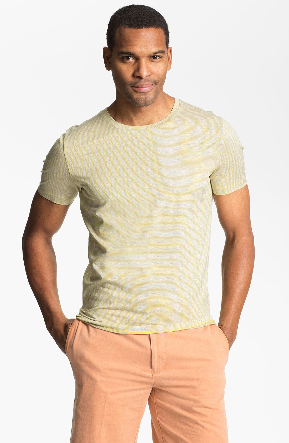Alternate Image 1 Selected - HUGO Crewneck T-Shirt