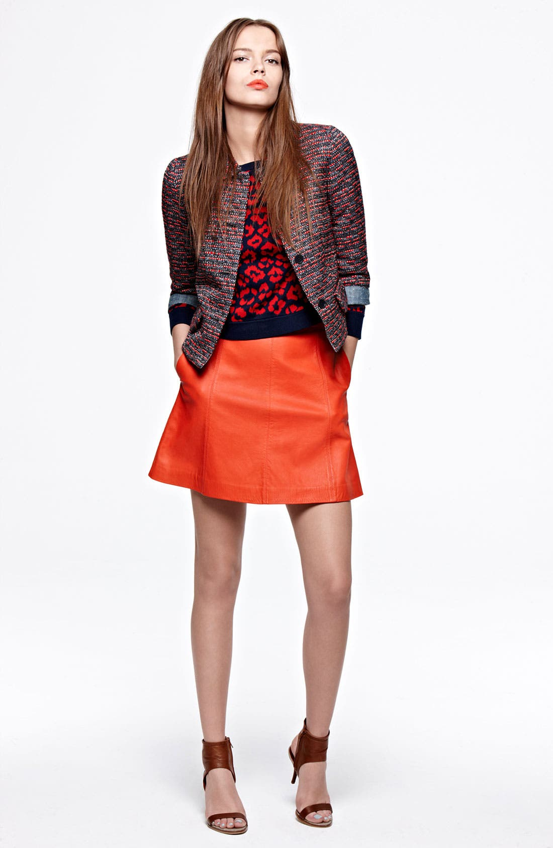 Alternate Image 4  - MARC BY MARC JACOBS 'Jett' Leather Skirt