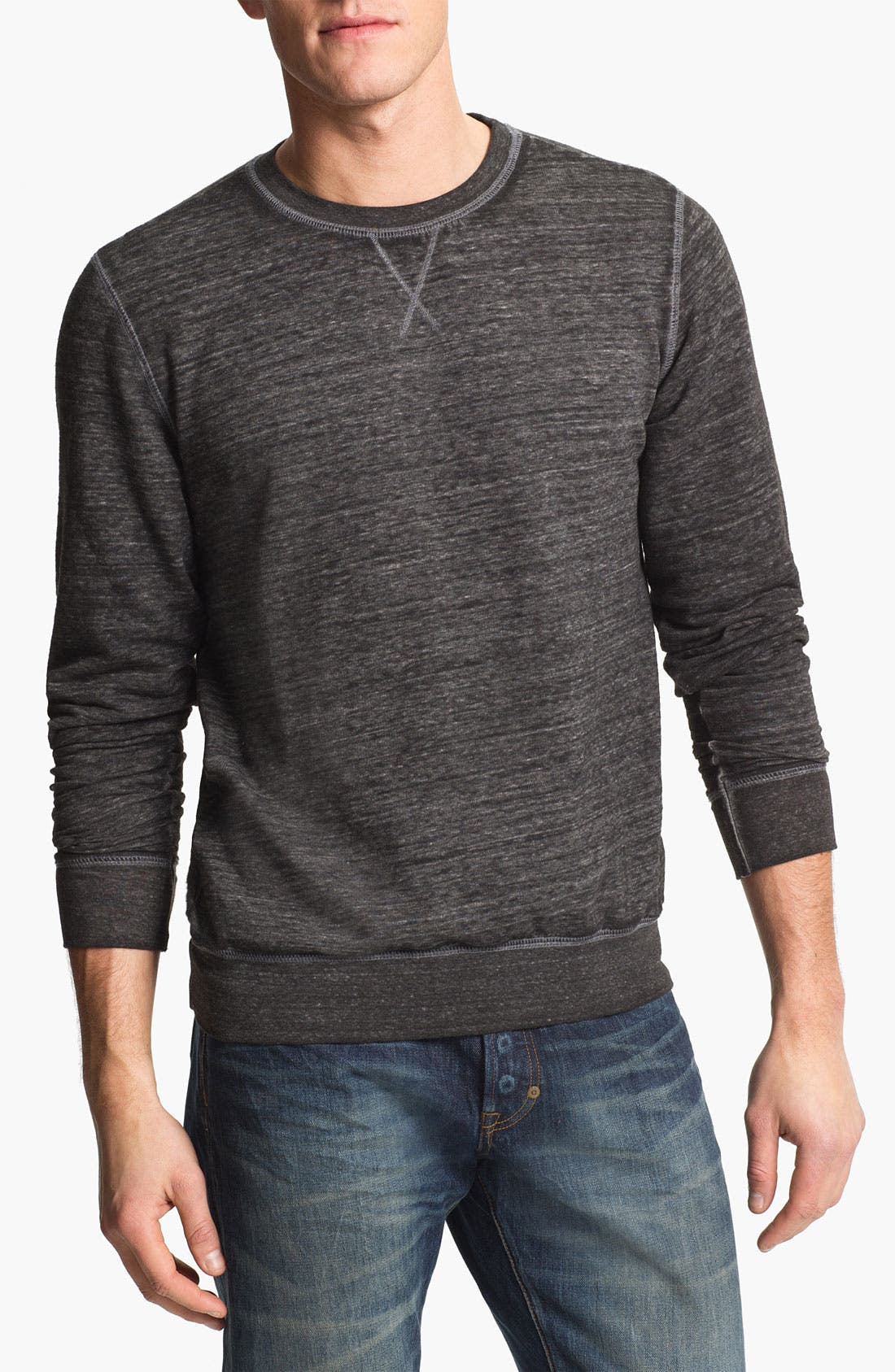 Main Image - Threads for Thought Burnout Crewneck Sweatshirt