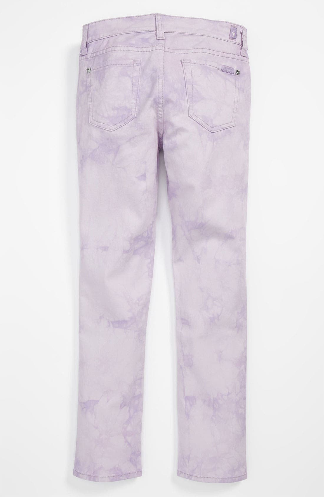 Alternate Image 1 Selected - 7 For All Mankind® 'The Skinny' Color Jeans (Big Girls)