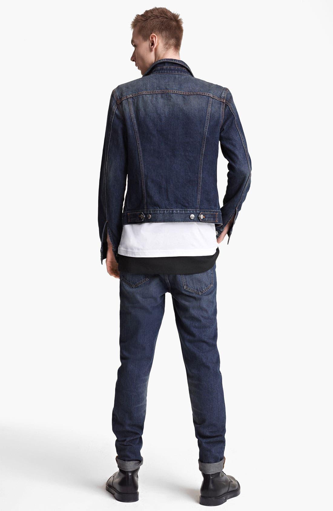 Alternate Image 5  - BLK DNM 'Jeans Jacket 5' Stonewashed Denim Jacket