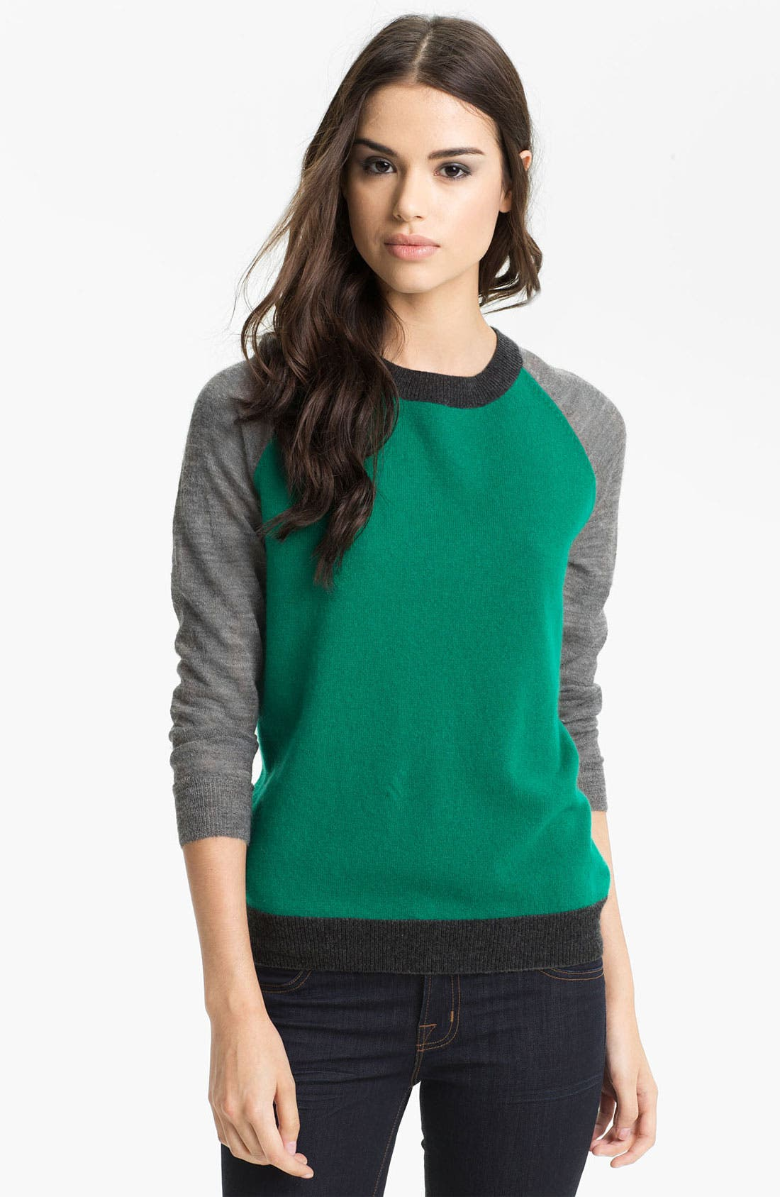 Alternate Image 1 Selected - Joie 'Wandie' Colorblock Cashmere Sweater