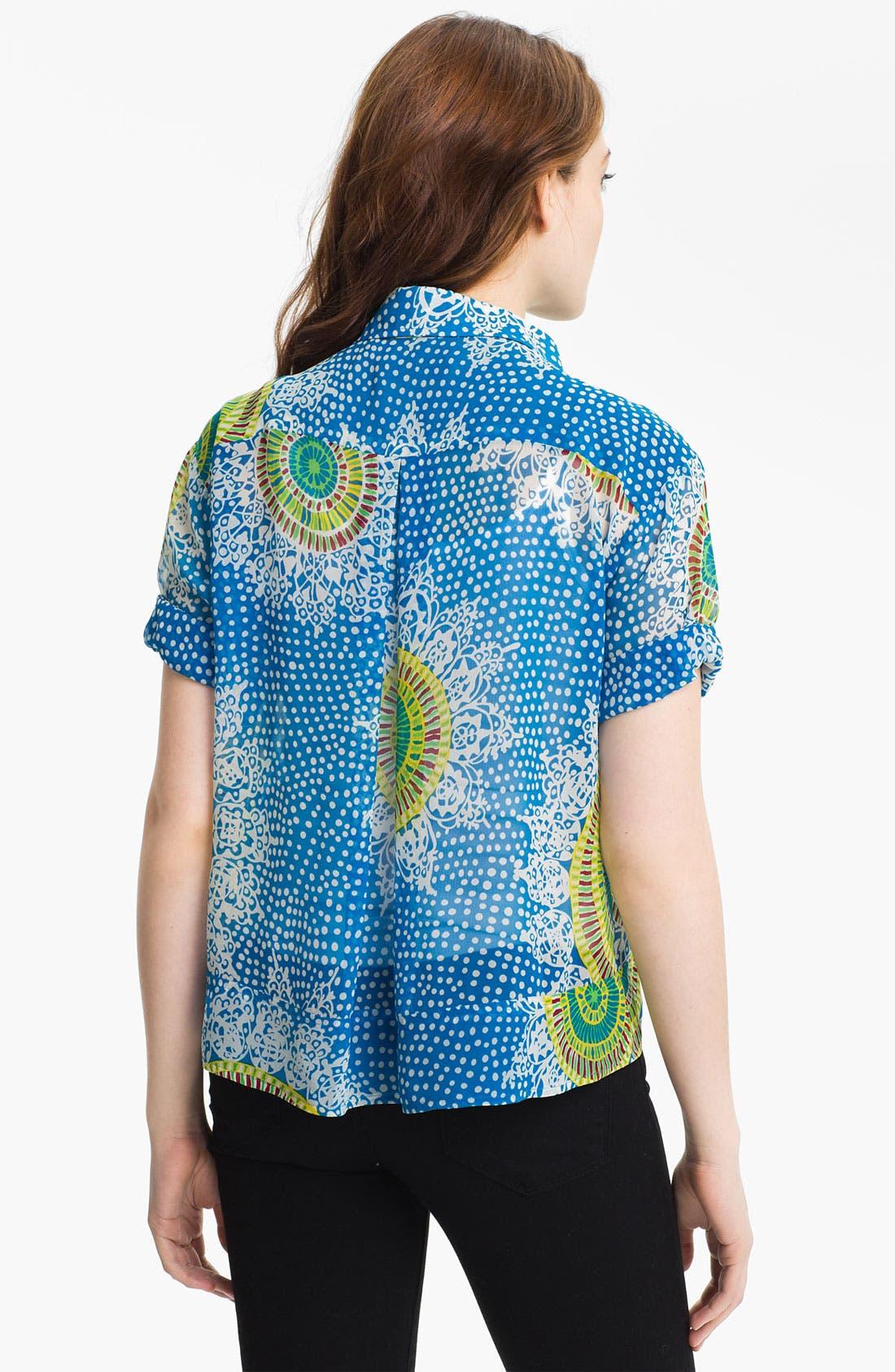 Alternate Image 2  - Nanette Lepore 'Heatwave' Print Top