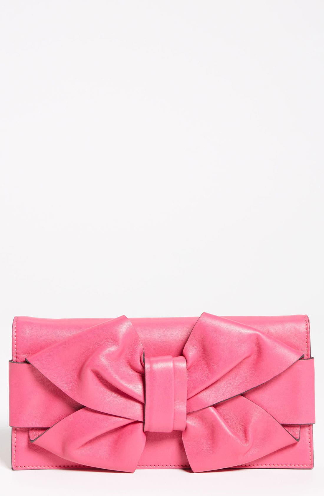 Main Image - Valentino 'Bow' Leather Clutch