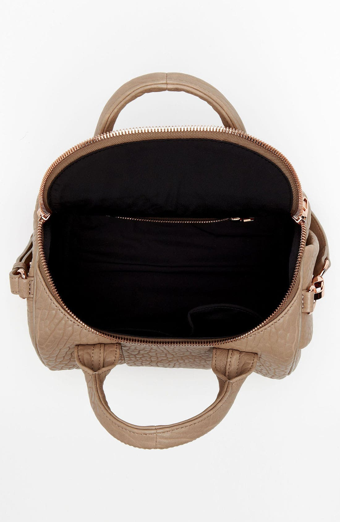 Alternate Image 3  - Alexander Wang 'Rockie - Rosegold' Leather Shoulder Satchel