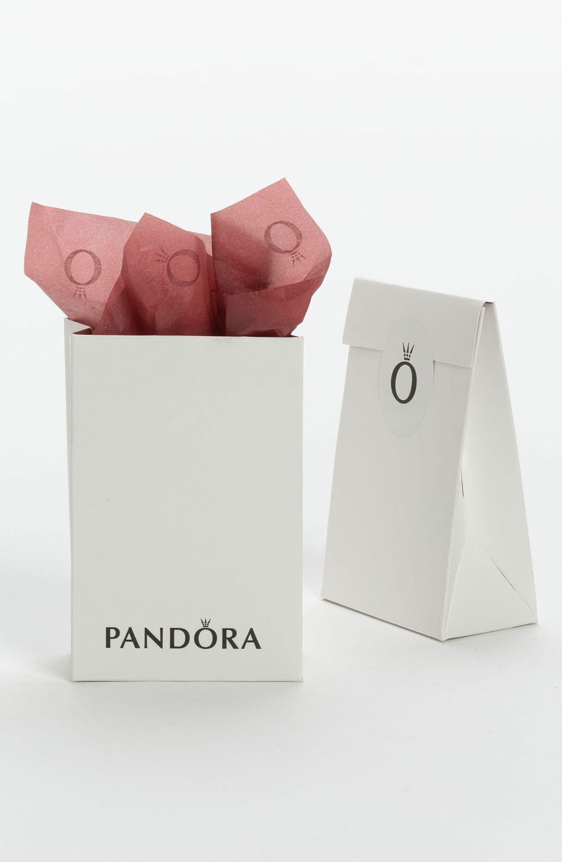 Alternate Image 2  - PANDORA Apple & Worm Charm