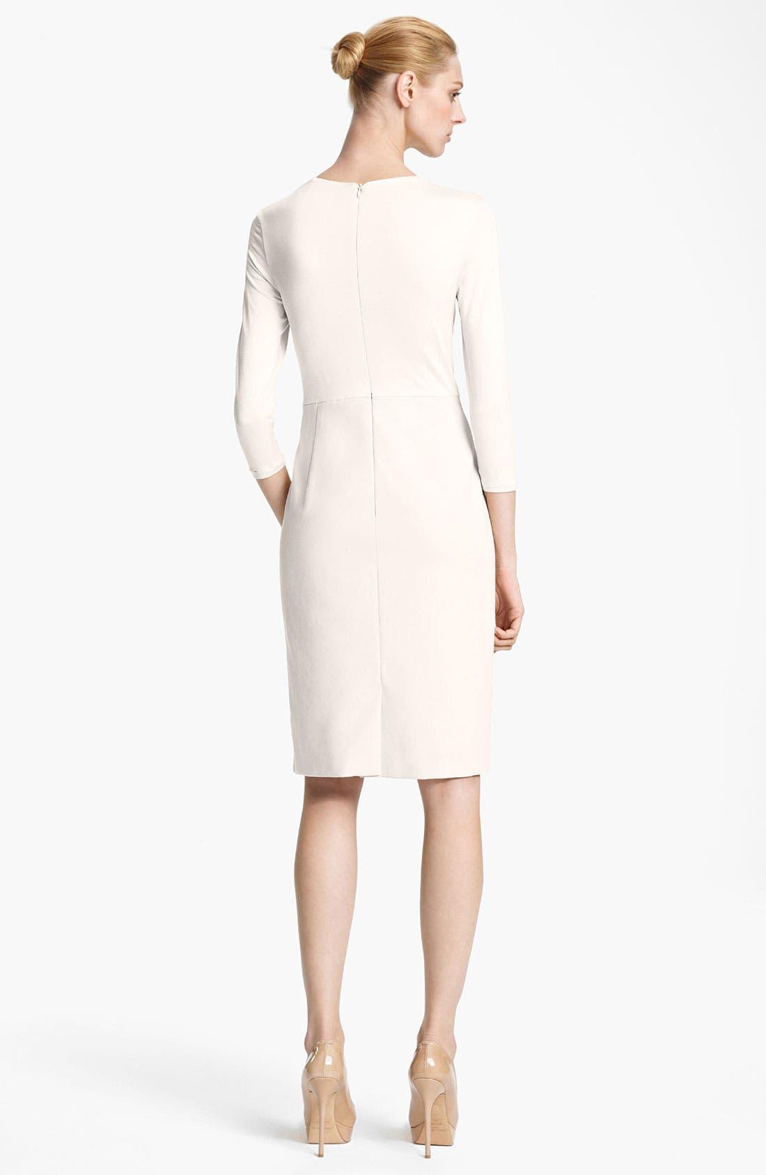 Alternate Image 2  - Max Mara 'Segnale' Square Neck Jersey Dress