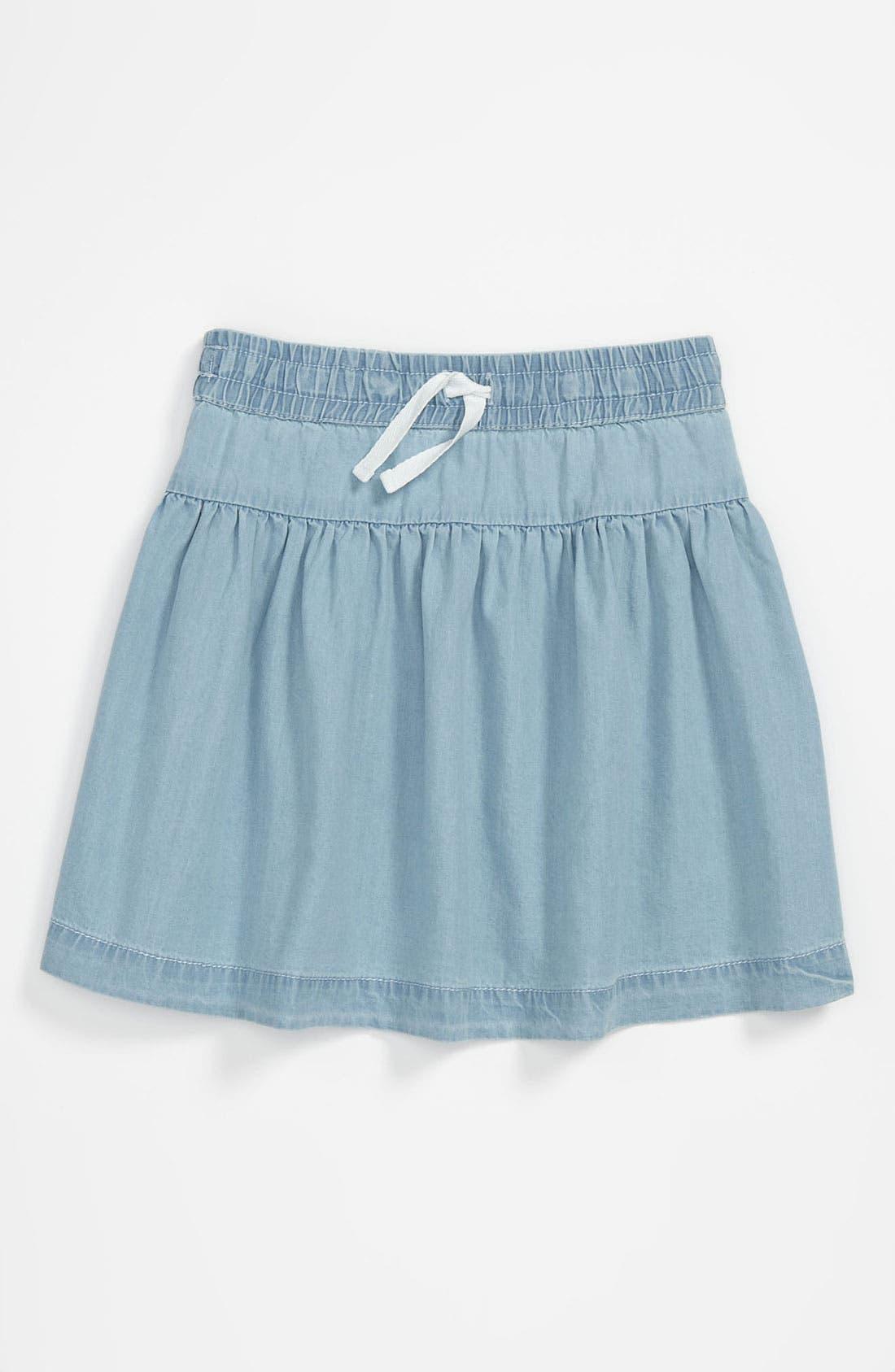 Main Image - Tucker + Tate 'Pippa' Chambray Skirt (Little Girls)