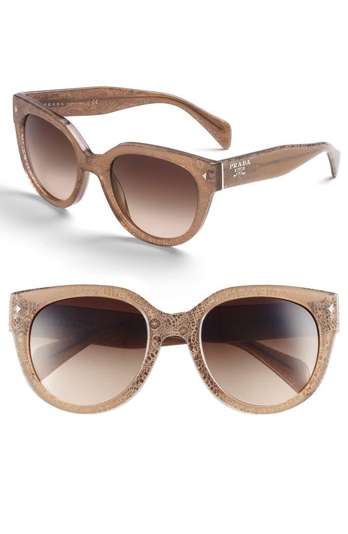 Plastic Glasses Frames Peeling : Prada 54mm Cat Eye Sunglasses Nordstrom