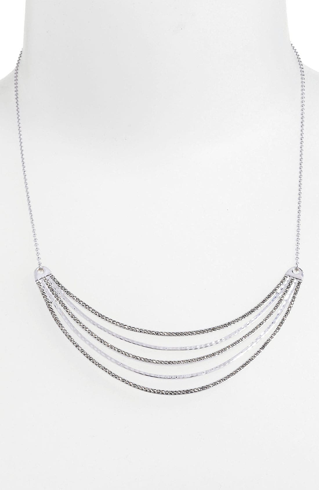 Main Image - Judith Jack 'Fluidity' Bib Necklace