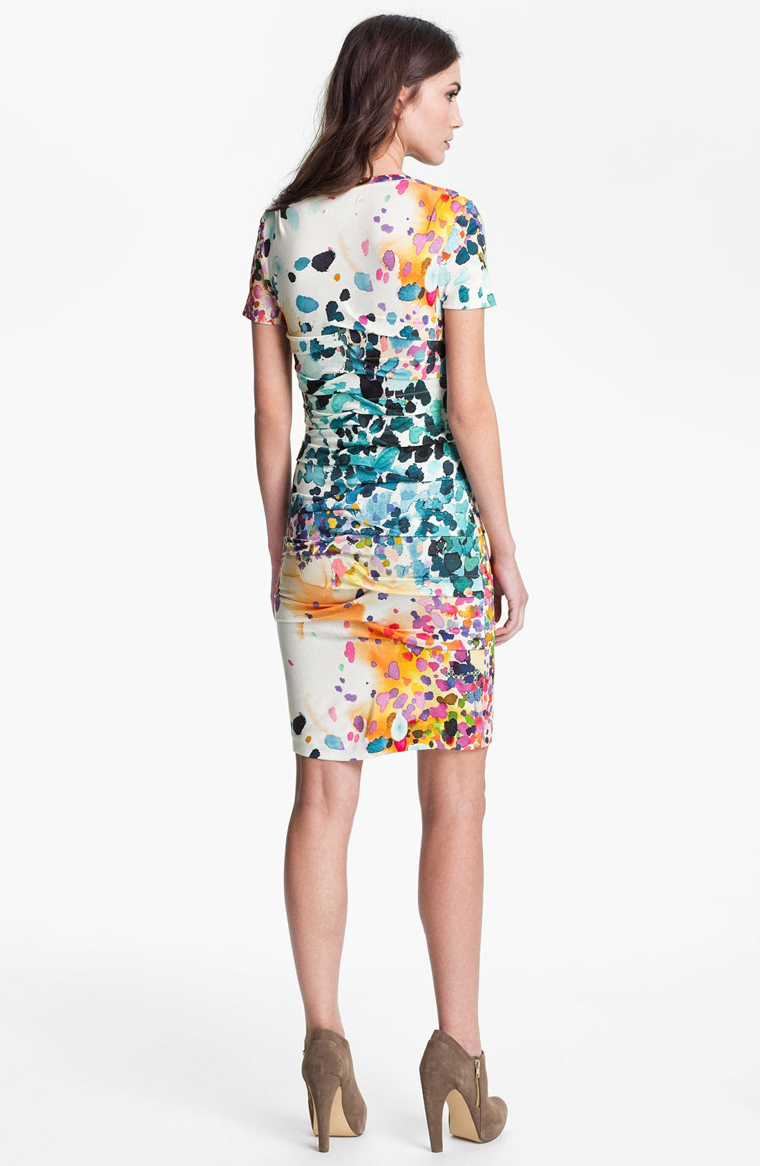 Alternate Image 2  - Nicole Miller 'In the Sun' Jersey Sheath Dress