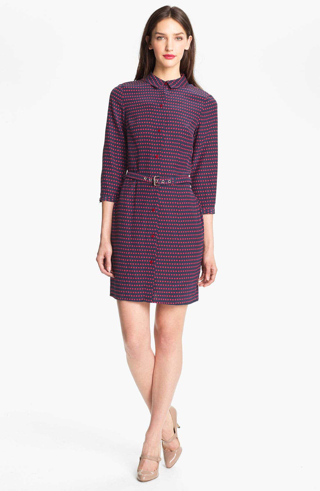 Alternate Image 1 Selected - MARC BY MARC JACOBS 'Izzy' Silk Shirtdress