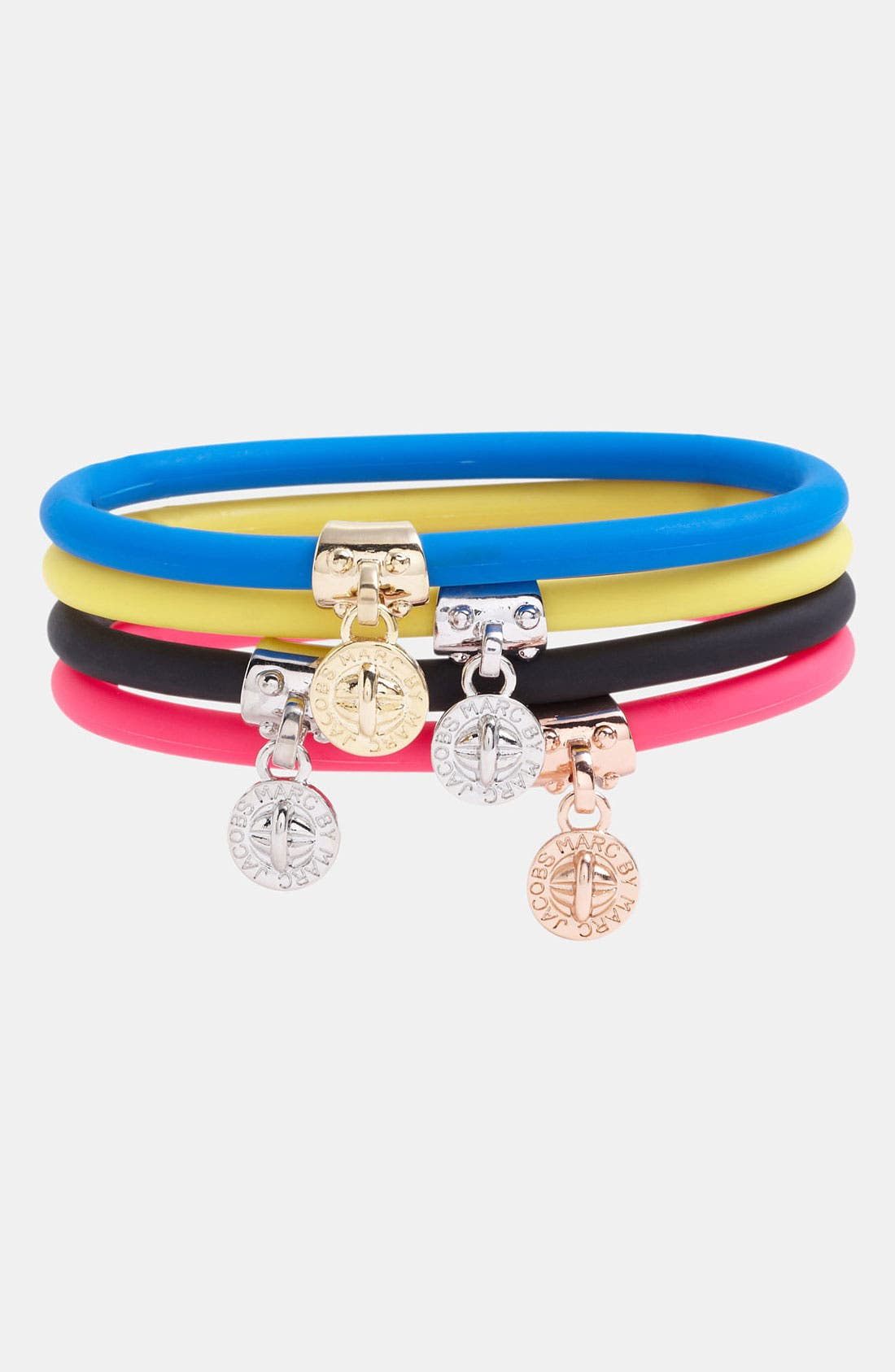 Main Image - MARC BY MARC JACOBS Silicone Stretch Bracelet