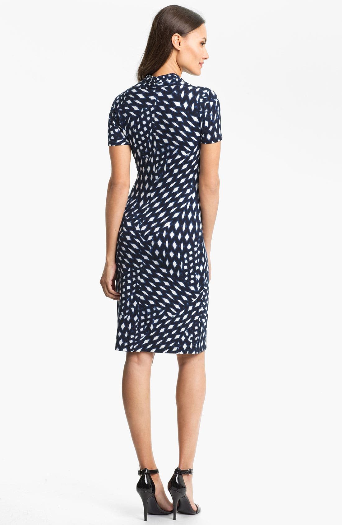 Alternate Image 2  - Karen Kane 'Spot Cascade' Faux Wrap Dress
