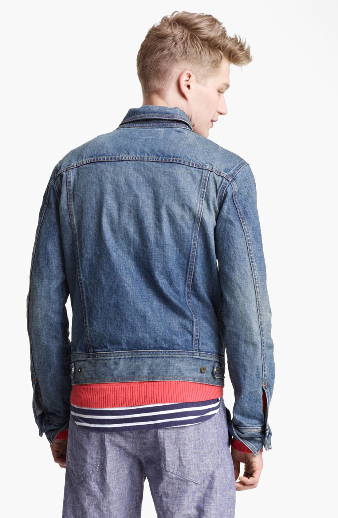 Alternate Image 2  - rag & bone Denim Jacket