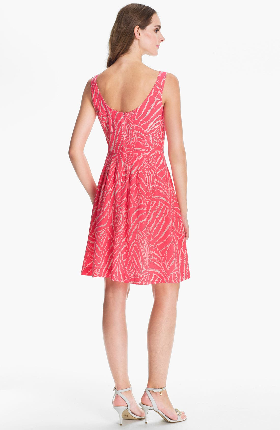 Alternate Image 2  - Lilly Pulitzer® 'Posey' Print Silk Fit & Flare Dress