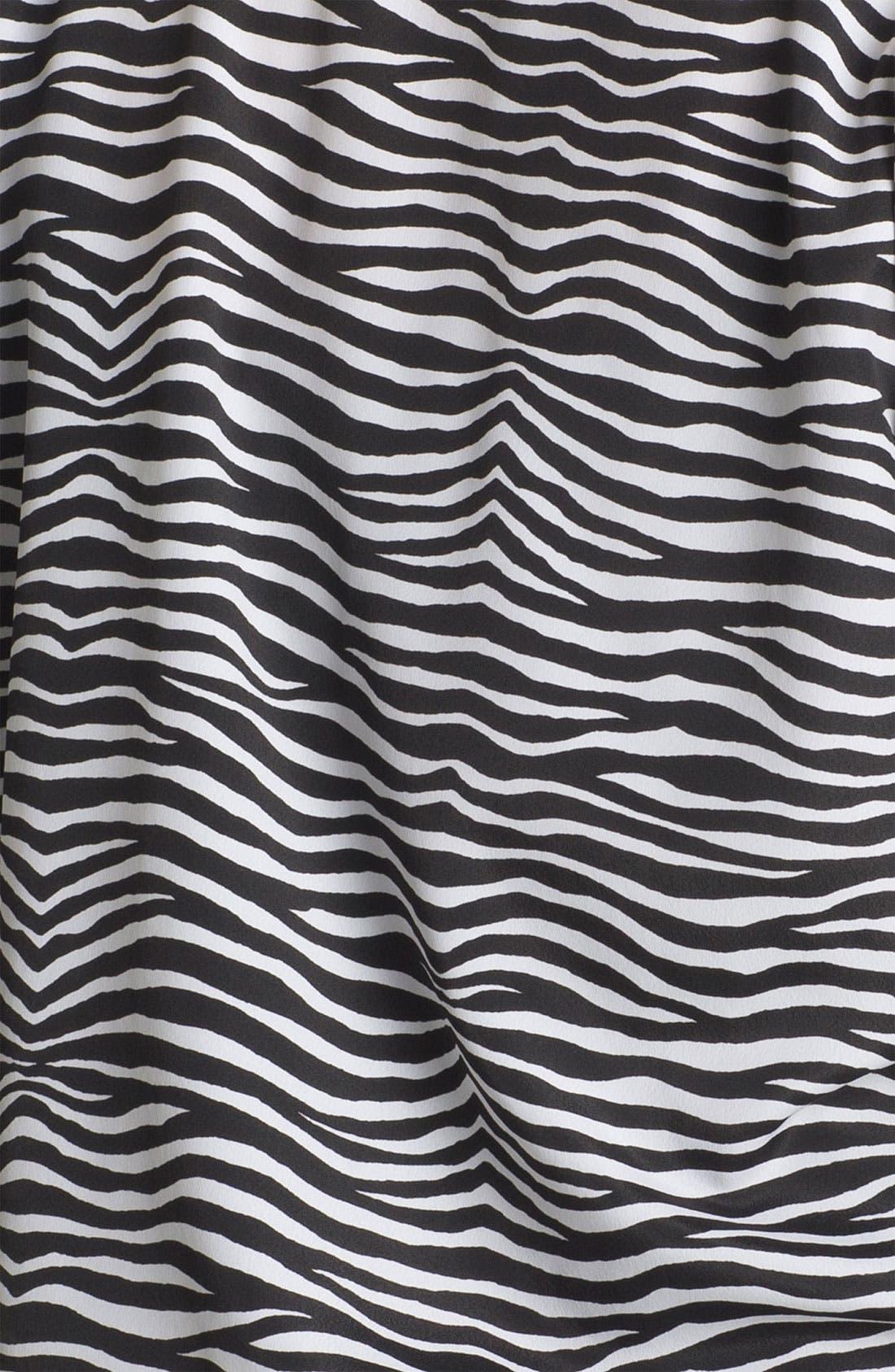 Alternate Image 3  - MICHAEL Michael Kors Tie Front Print Blouse (Plus)