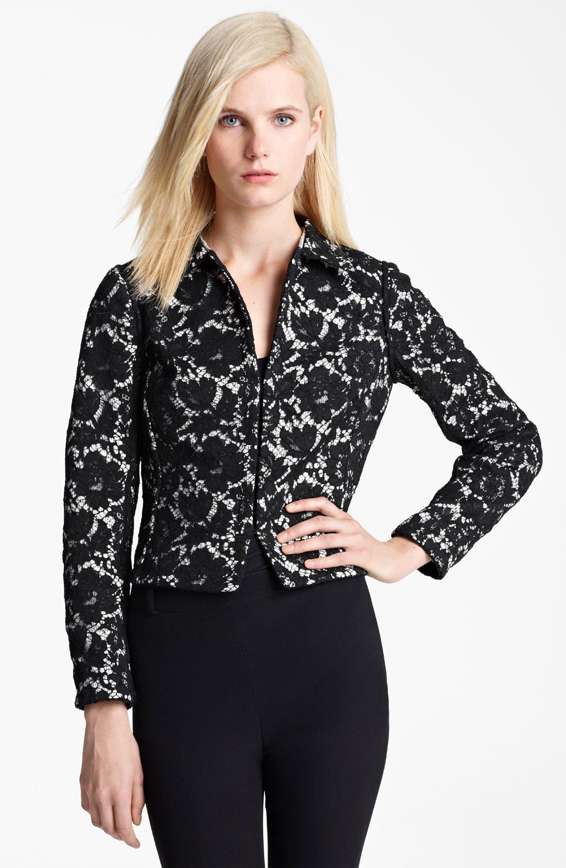 Alternate Image 2  - Valentino Belted Reversible Jacket