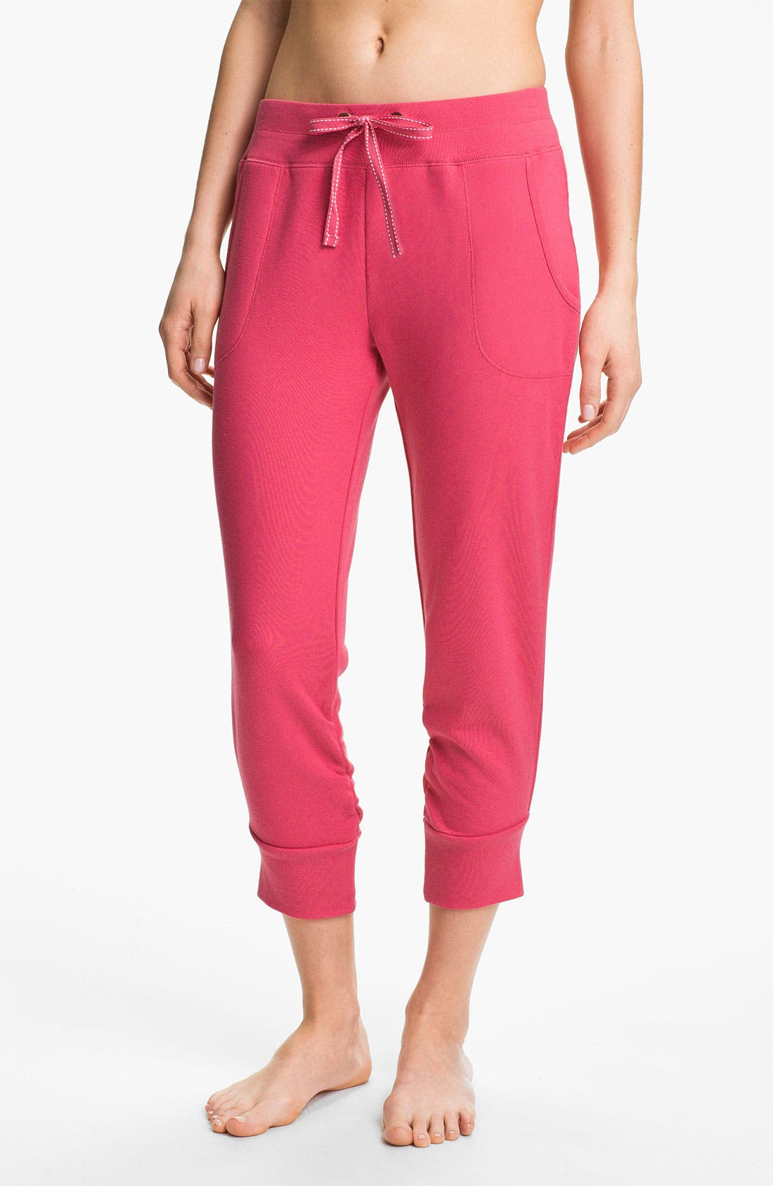 Main Image - Jane & Bleecker New York Crop French Terry Pants