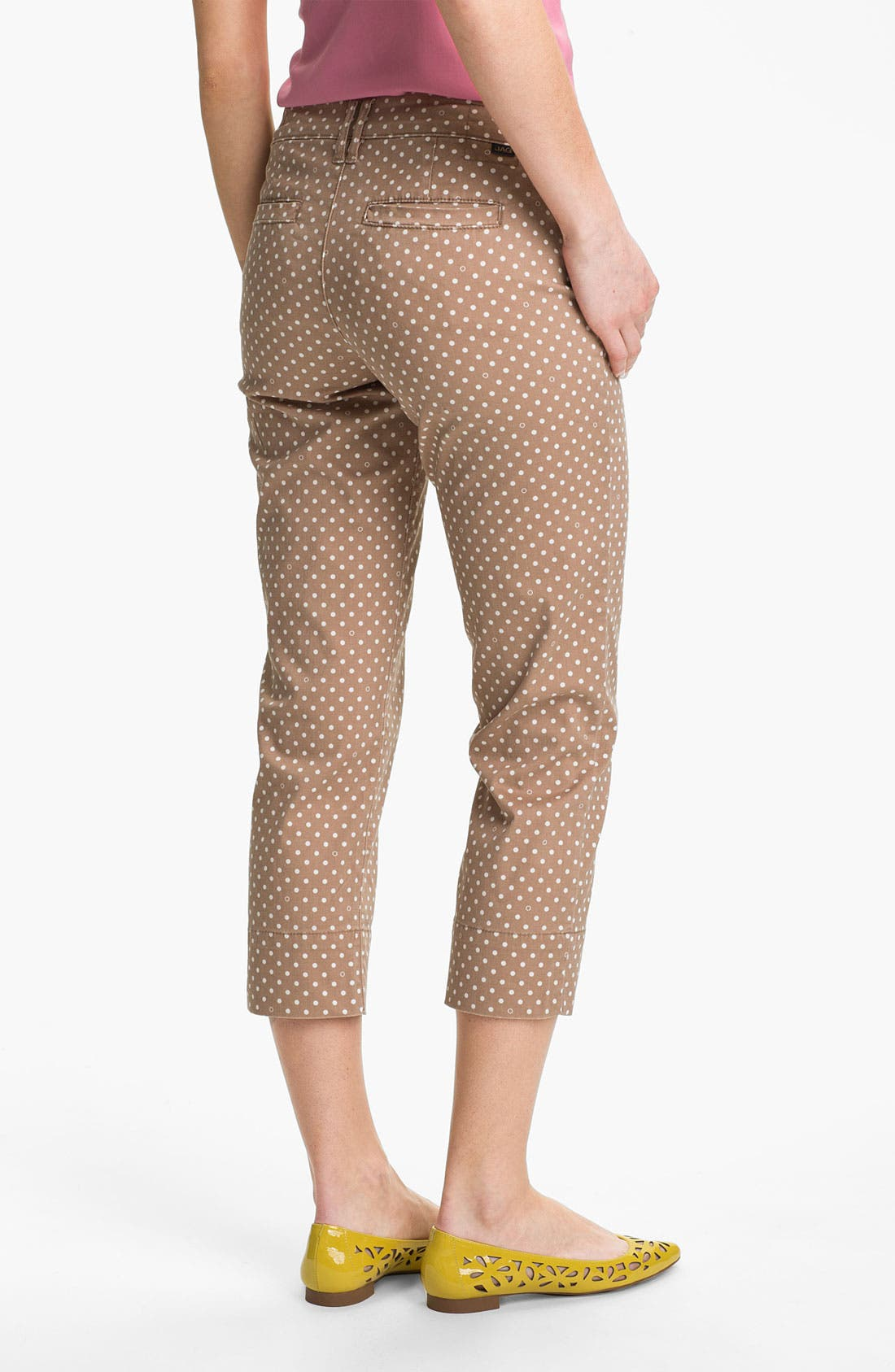 Alternate Image 3  - Jag Jeans 'Maitland' Crop Twill Pants (Petite)