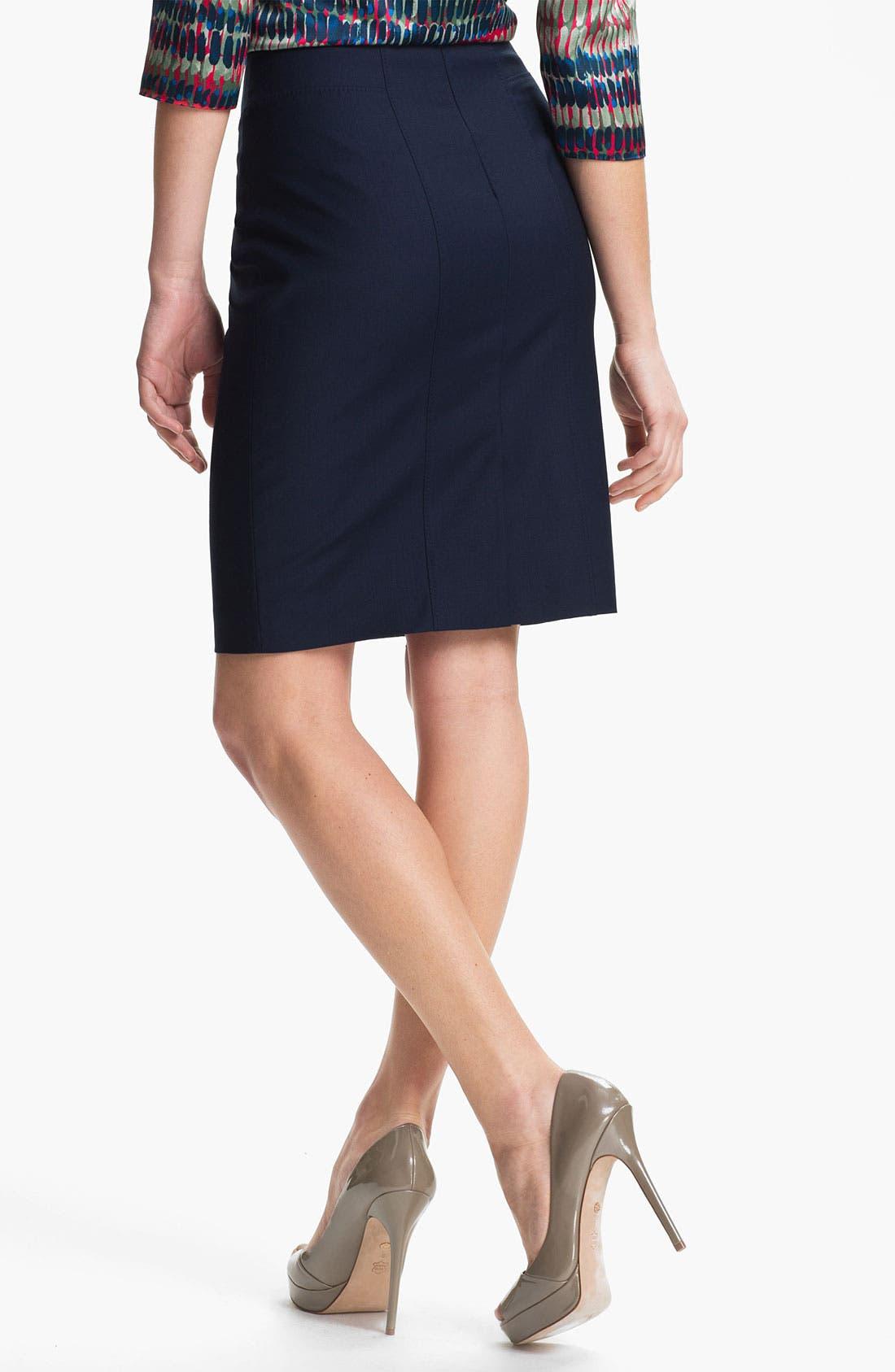 Alternate Image 2  - BOSS Black 'Vilonie' Skirt