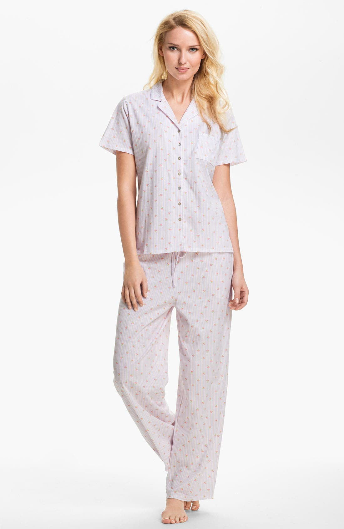 Alternate Image 1 Selected - Eileen West 'Pastoral Beauty' Pajamas
