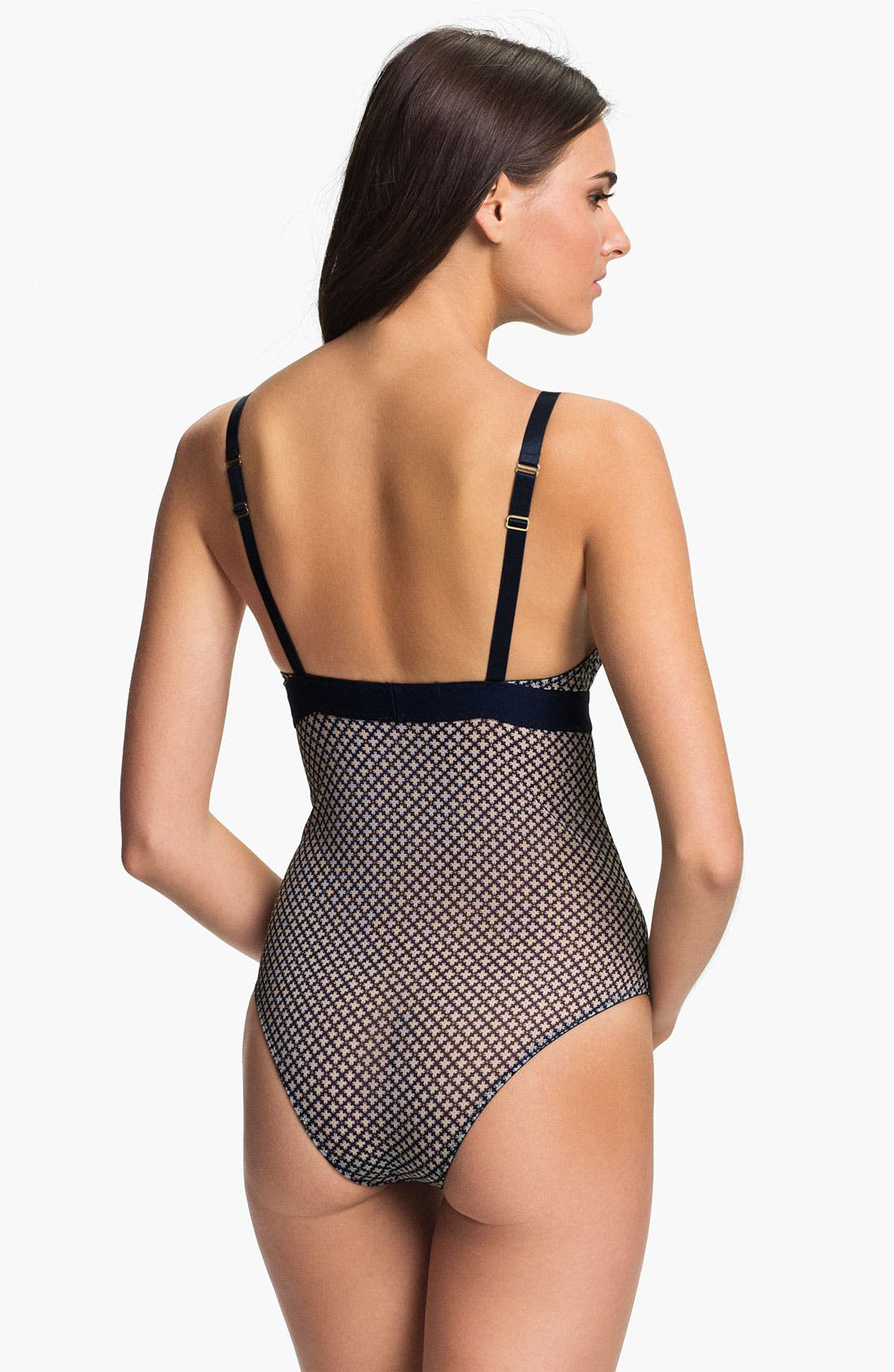 Alternate Image 2  - Stella McCartney 'Marguerite Riding' Sheer Bodysuit