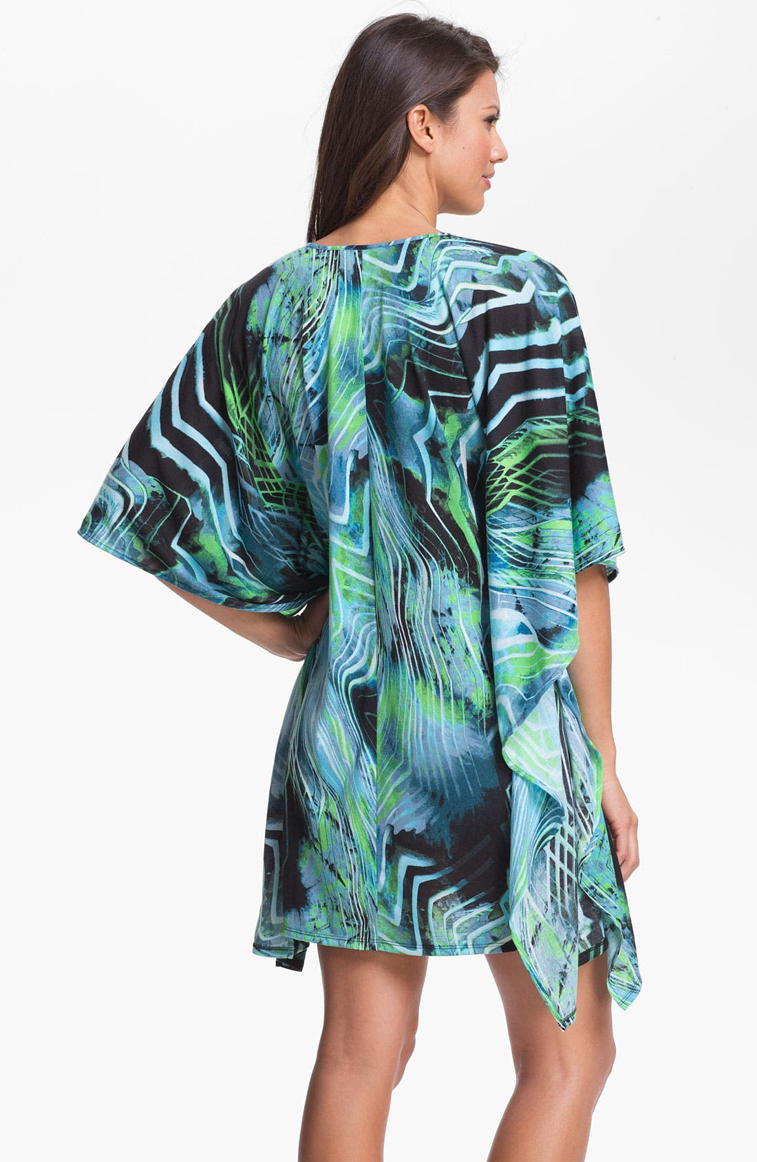 Alternate Image 2  - On Gossamer 'Whisper' Knit Caftan