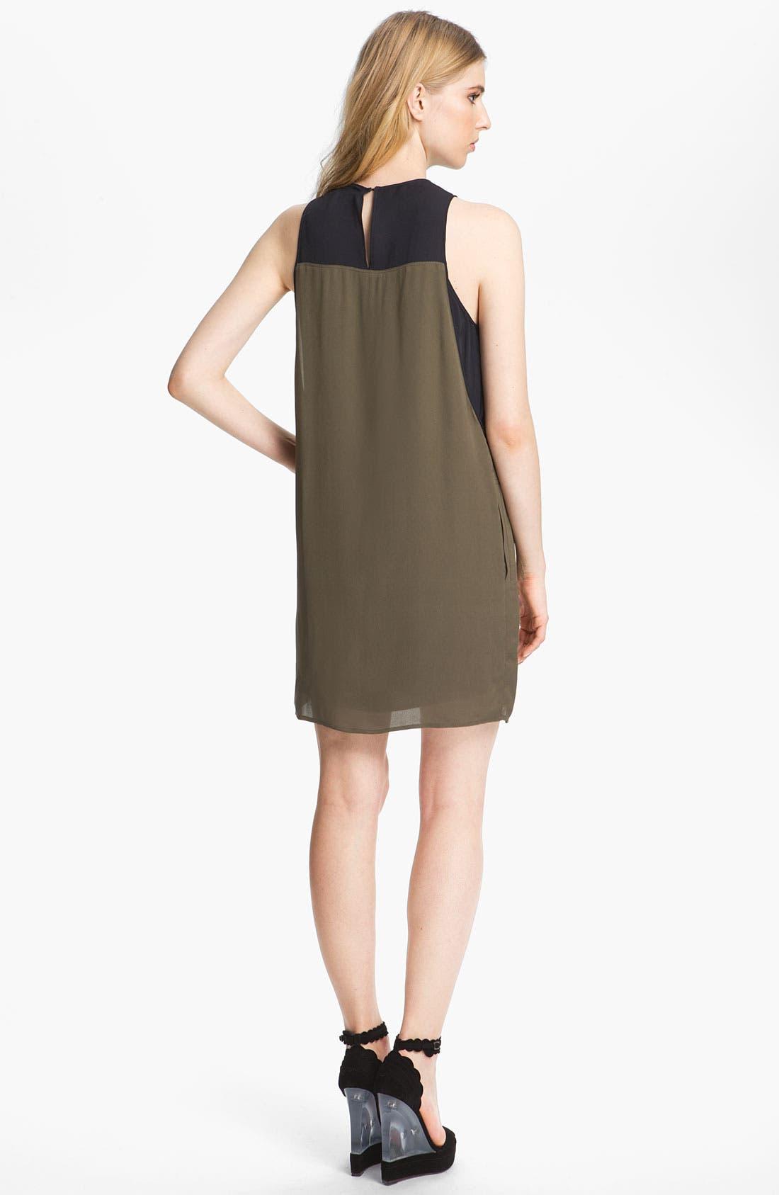 Alternate Image 2  - A.L.C. 'Camille' Silk Dress