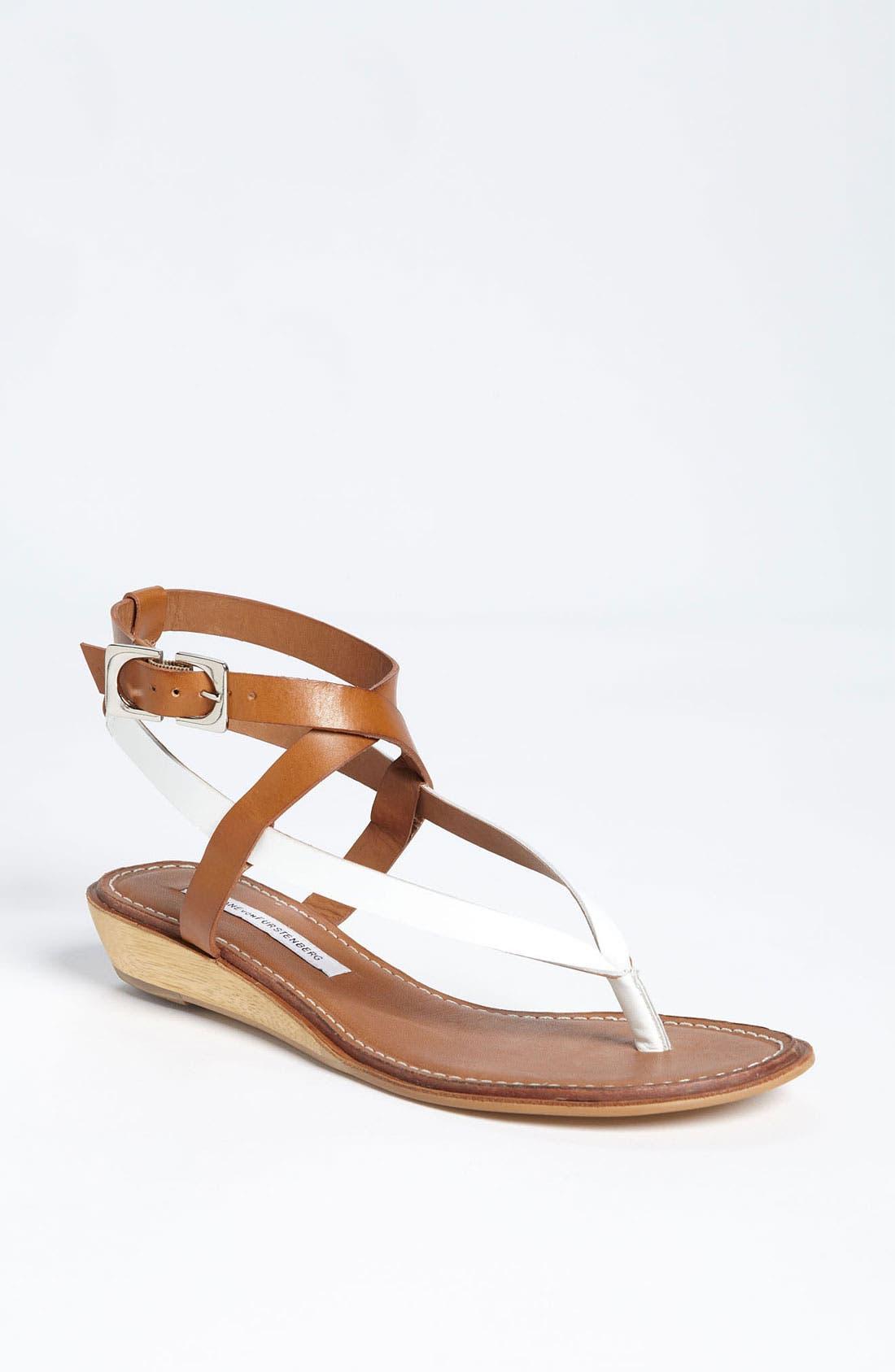 Main Image - Diane von Furstenberg 'Dottie' Sandal (Online Only)