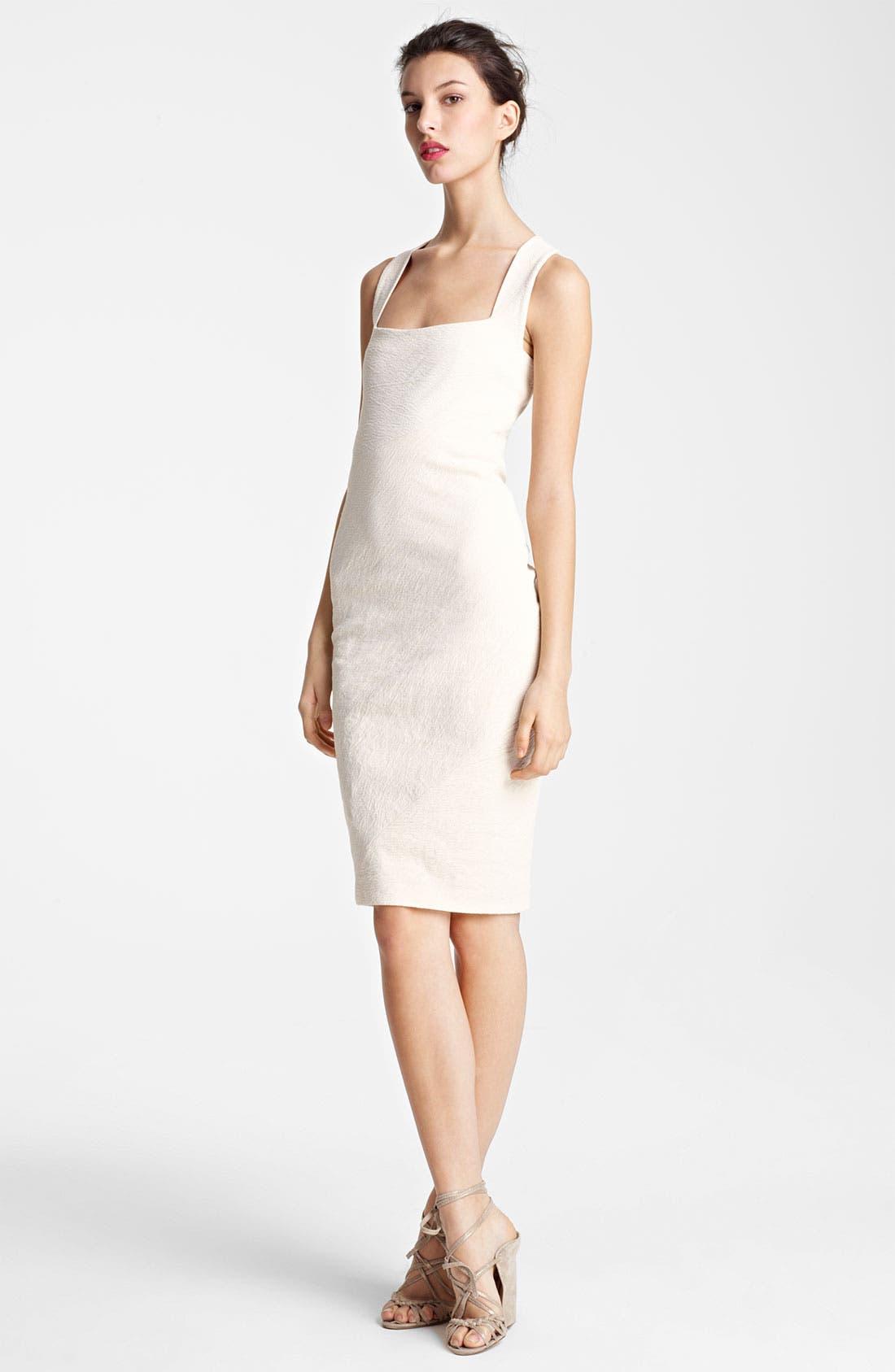 Alternate Image 1 Selected - Donna Karan Collection Canvas Sheath Dress