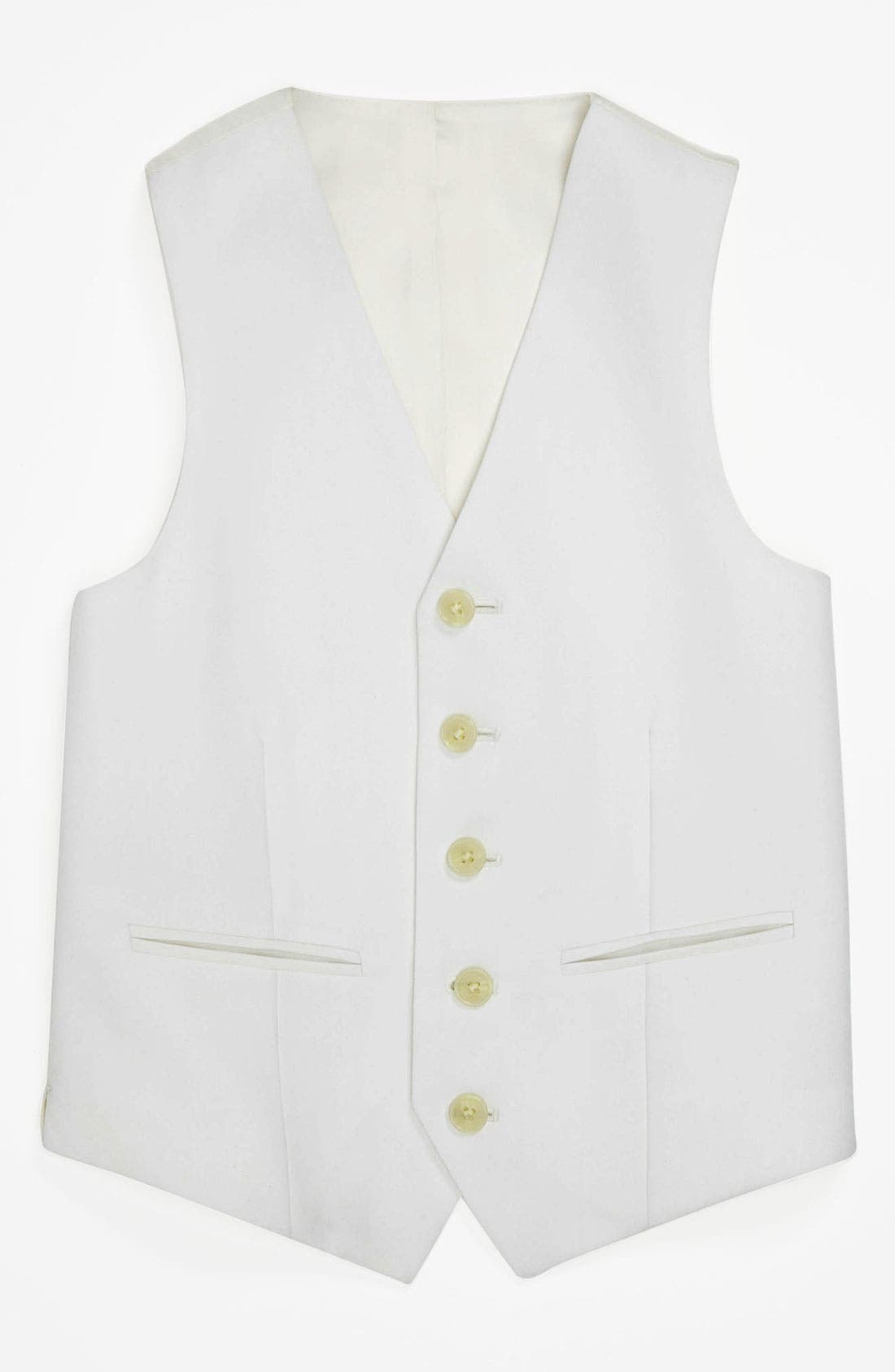 Alternate Image 1 Selected - Joseph Abboud Vest (Little Boys & Big Boys)