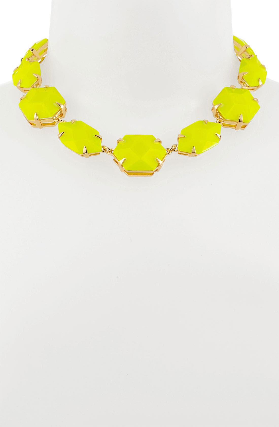 Alternate Image 2  - Vince Camuto 'Bright Gems' Faceted Resin Collar Necklace