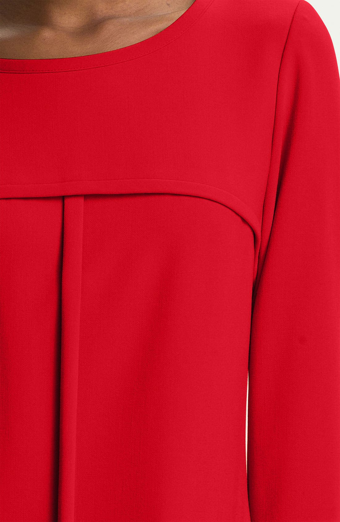 Alternate Image 3  - Tahari Ponte Shift Dress (Petite)