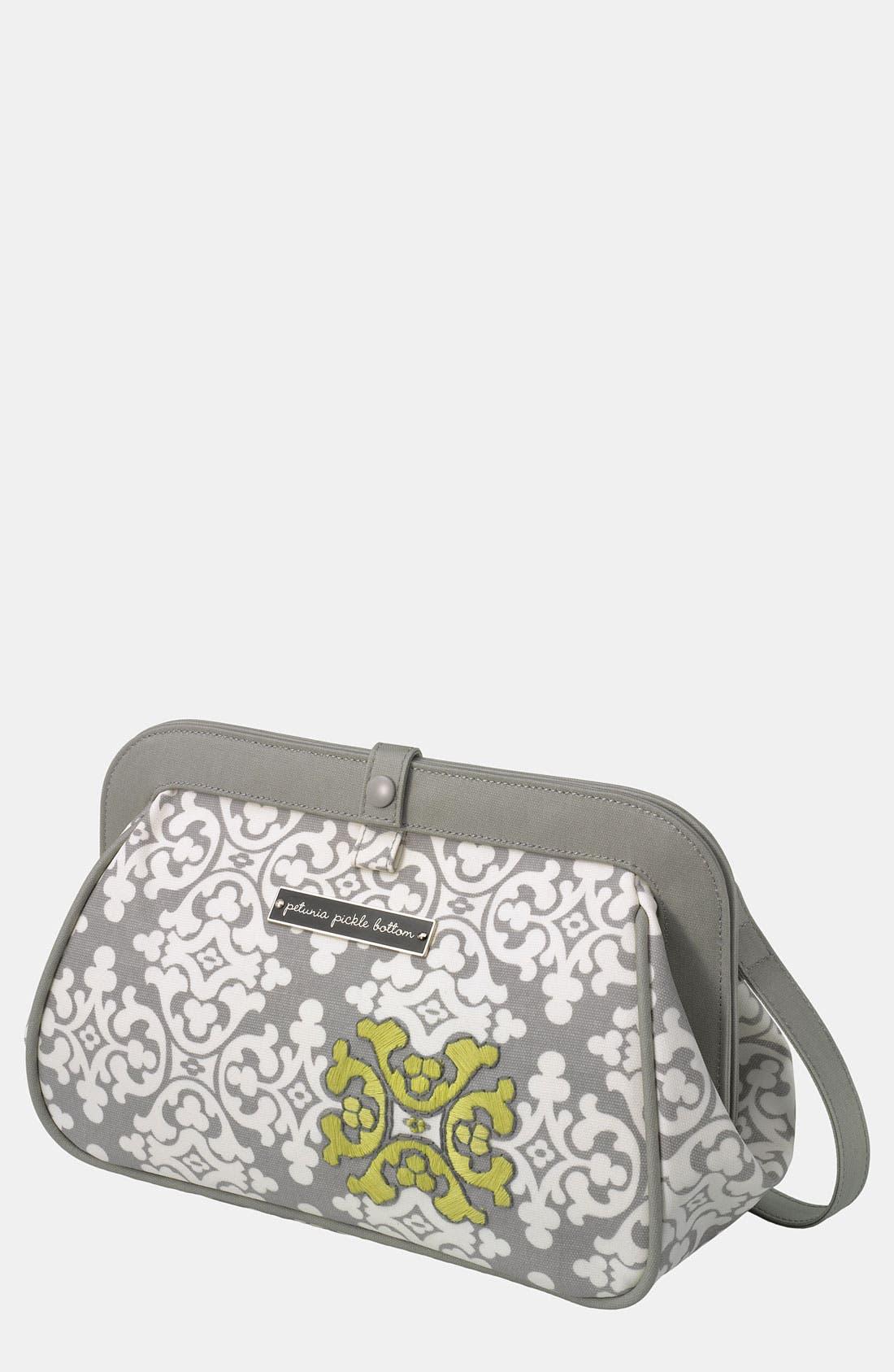 Main Image - Petunia Pickle Bottom 'Crosstown' Glazed Clutch Diaper Bag