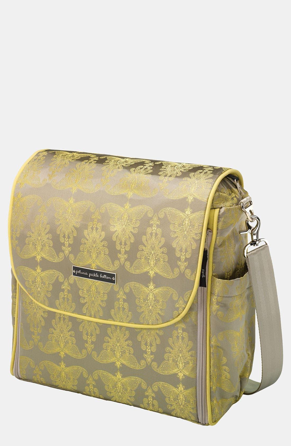 Main Image - Petunia Pickle Bottom 'Boxy' Brocade Backpack Diaper Bag