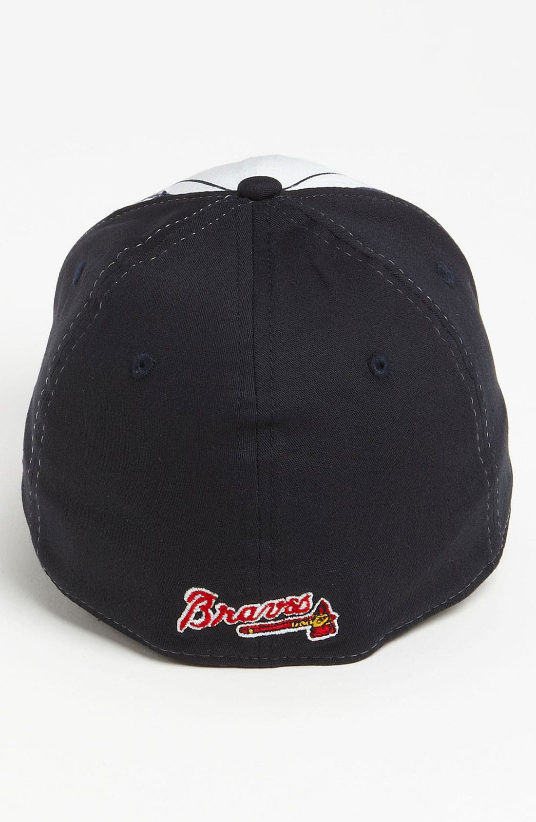 Alternate Image 2  - New Era Cap 'Atlanta Braves - Plaidtastic' Fitted Baseball Cap