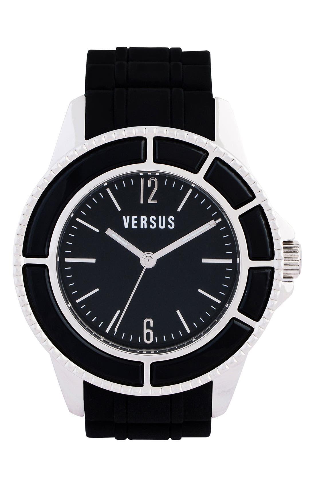 Main Image - Versus by Versace 'Tokyo' Rubber Strap Watch