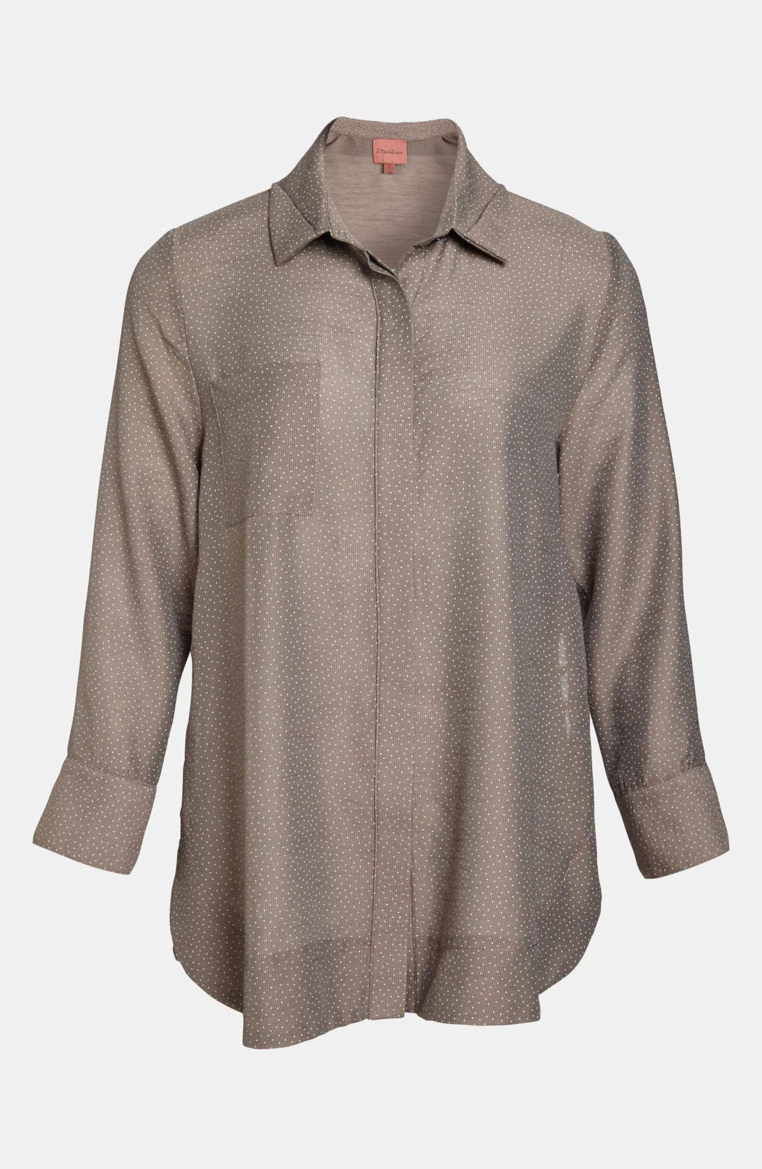 Alternate Image 1 Selected - I.Madeline Button Seam Blouse