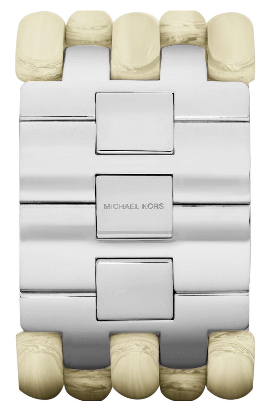 Alternate Image 3  - Michael Kors 'Rio' Wide Bracelet Watch