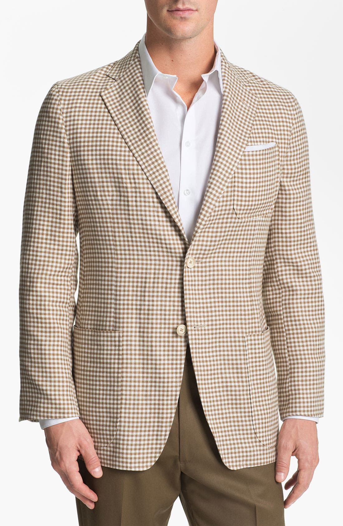 Alternate Image 1 Selected - Joseph Abboud Check Sportcoat