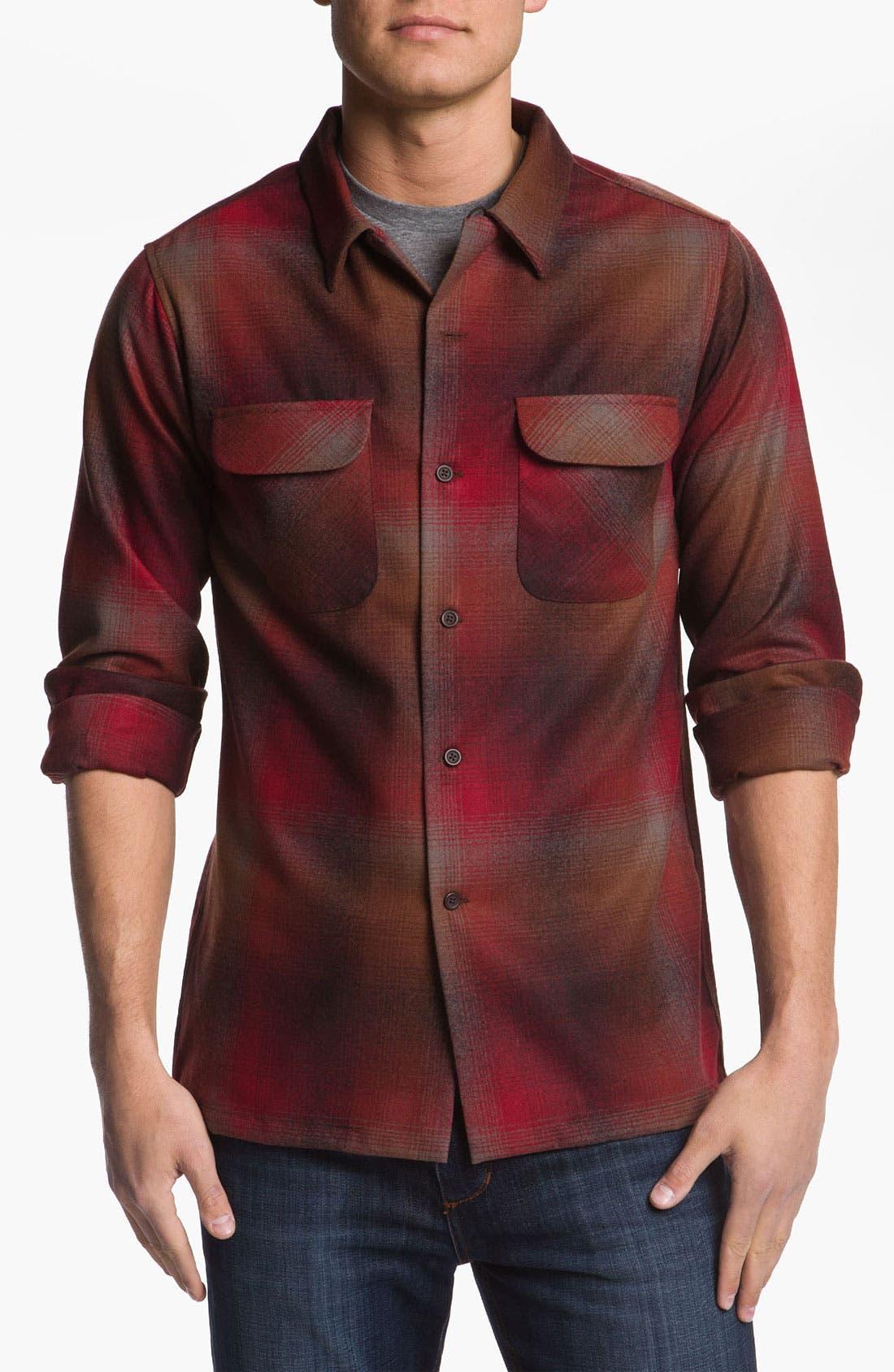Main Image - Pendleton Fitted Wool Shirt