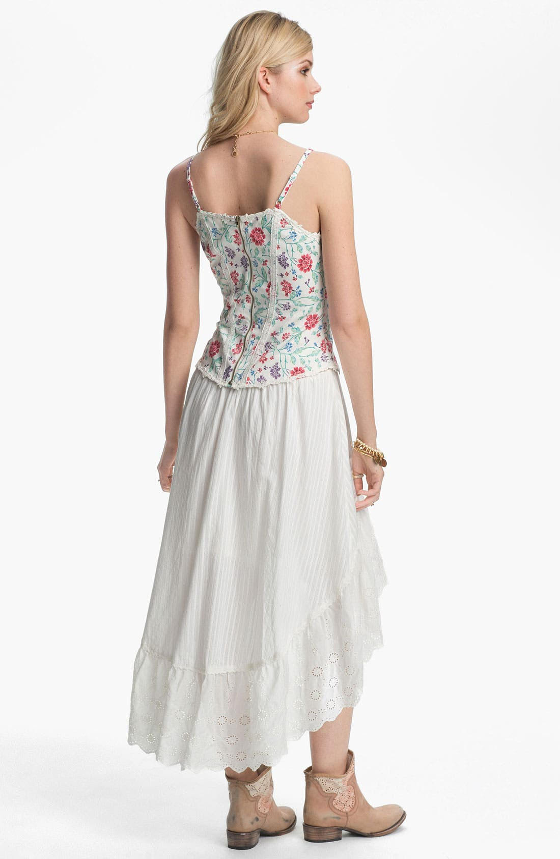Alternate Image 2  - Free People 'Miss Lizzy' Floral Corset Camisole