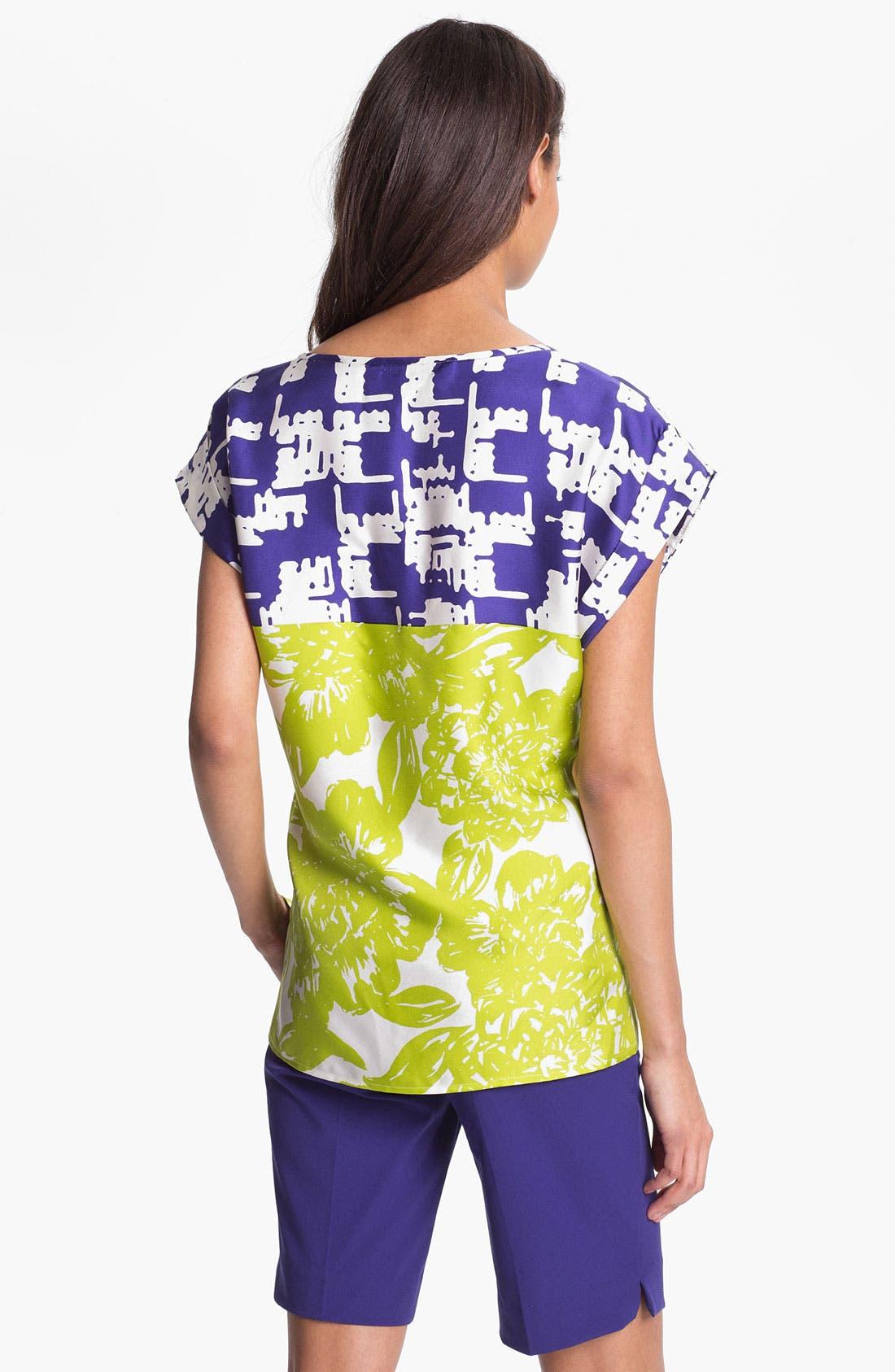 Alternate Image 2  - Trina Turk 'Tiki' Silk Top