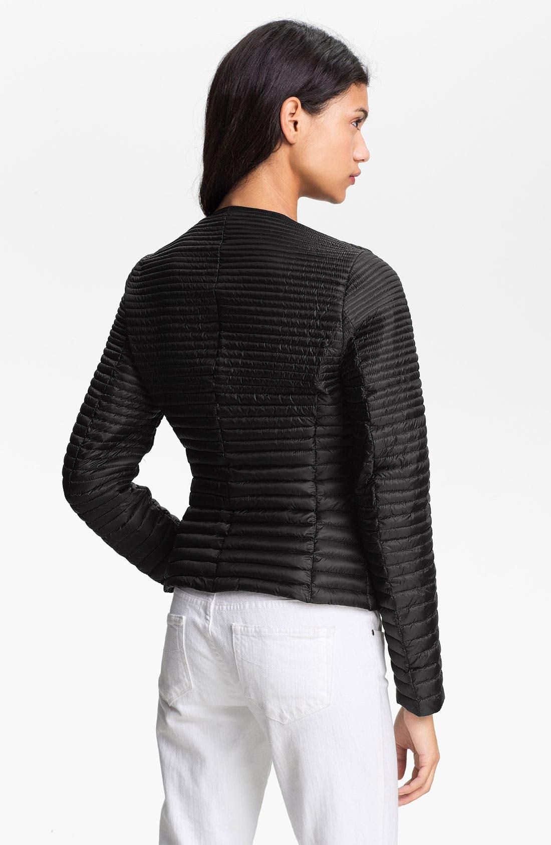 Alternate Image 2  - Moncler 'Prisca' Packable Asymmetrical Zip Down Jacket