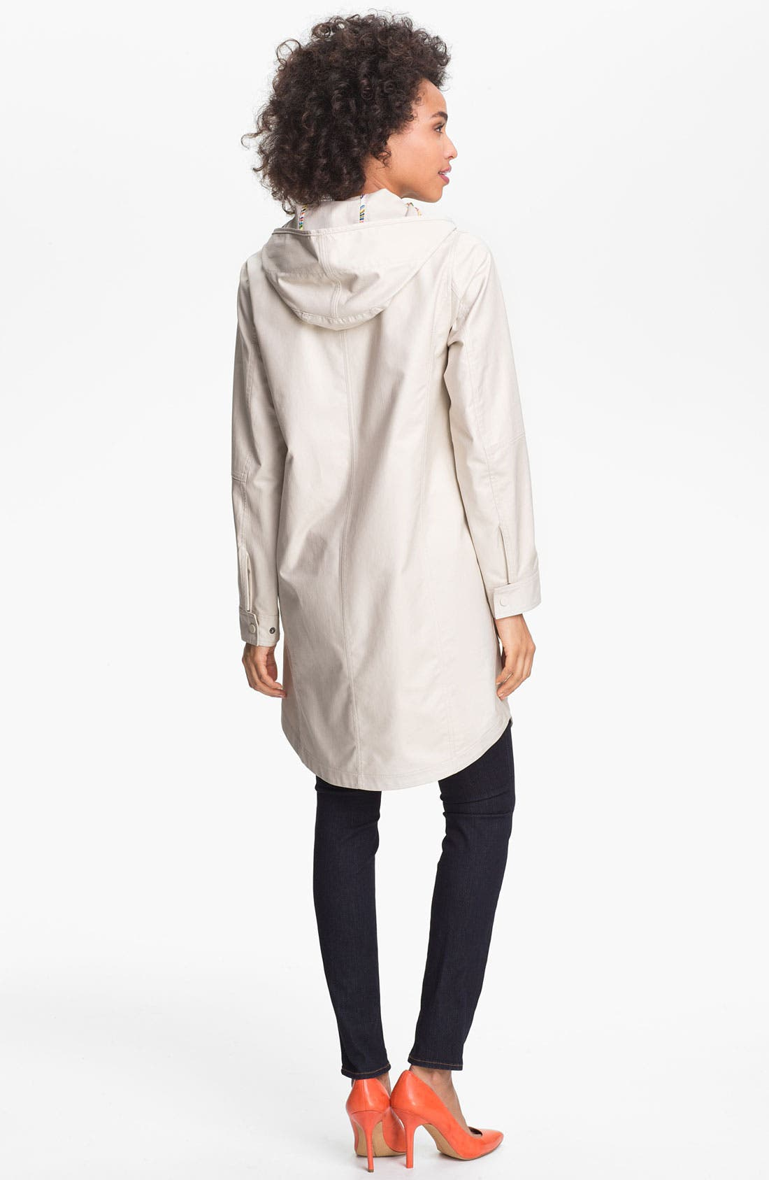 Alternate Image 2  - Trina Turk 'Marcia' Mackintosh Coat
