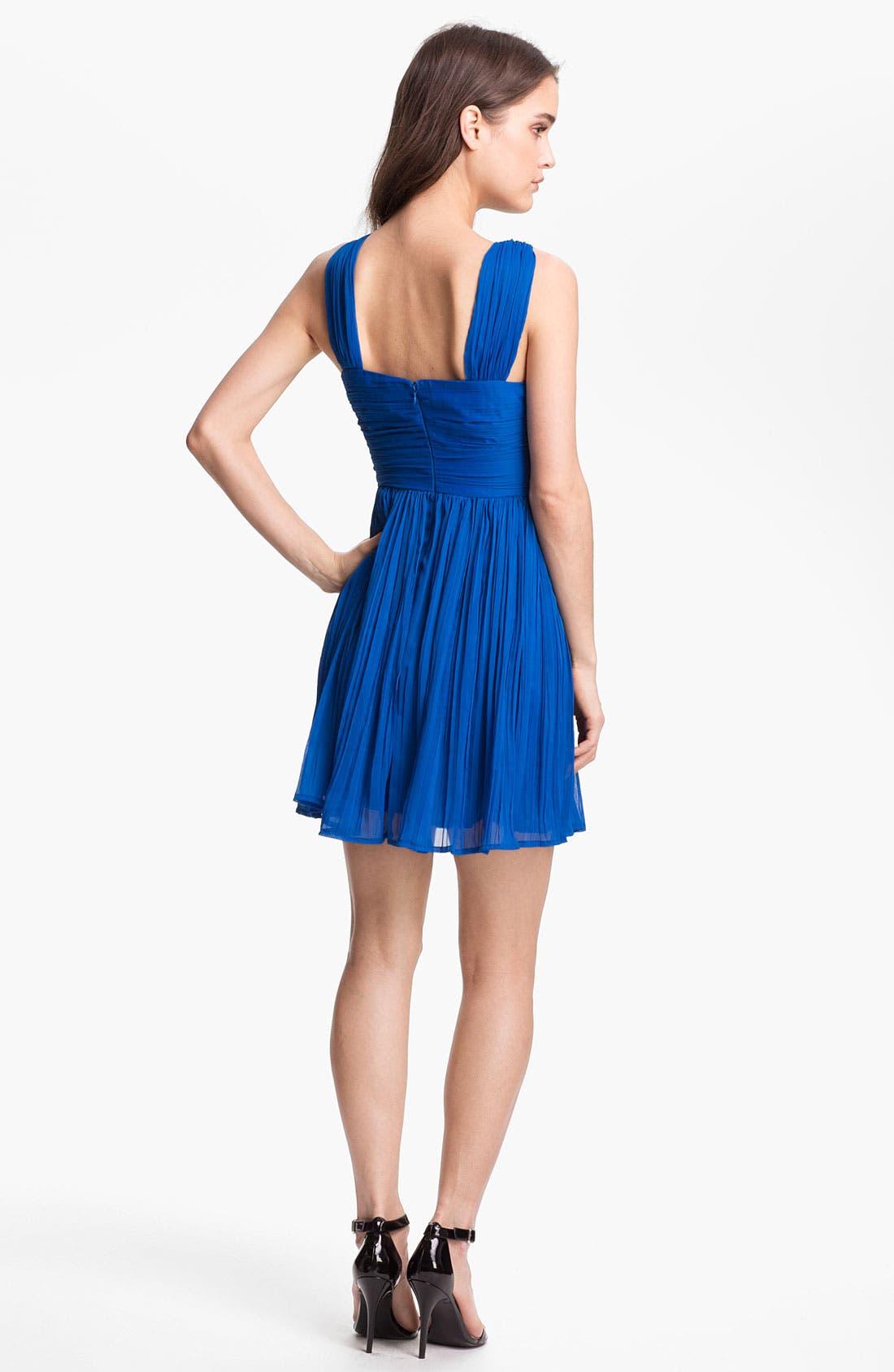Alternate Image 2  - BB Dakota 'Keifer' Crinkled Fit & Flare Dress