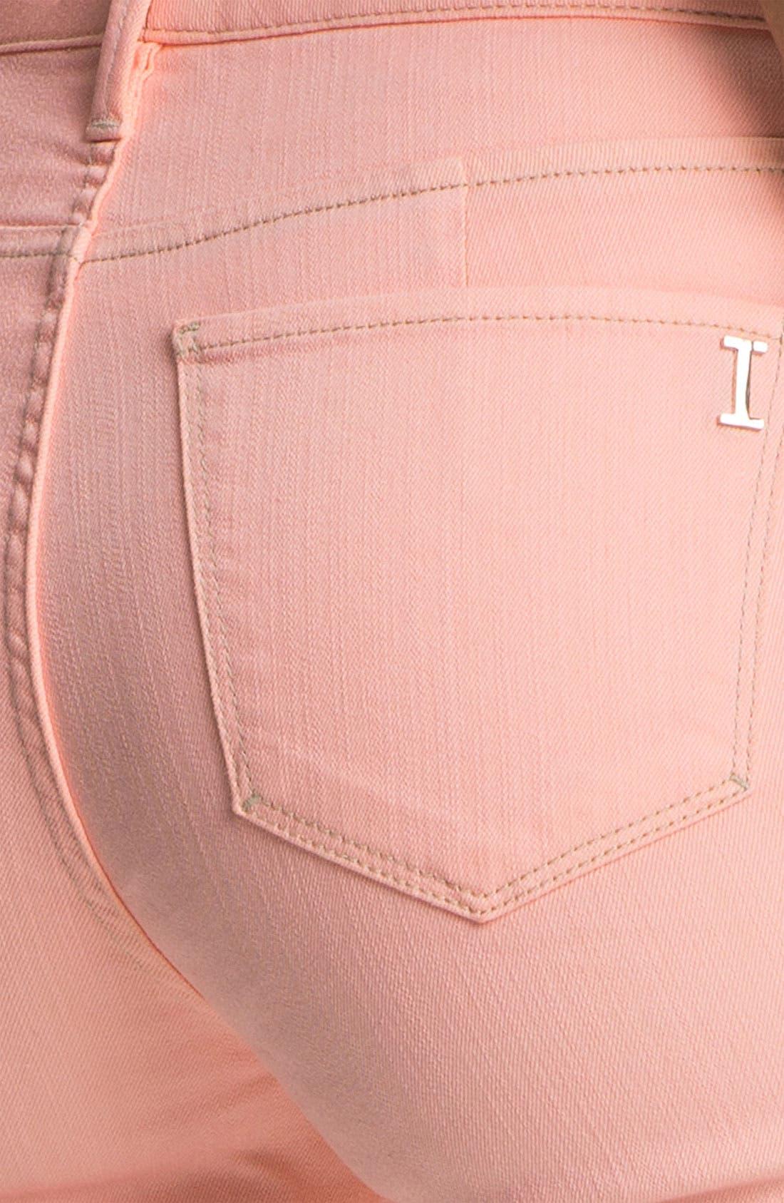 Alternate Image 3  - Isaac Mizrahi Jeans Contrast Cuff Jeans