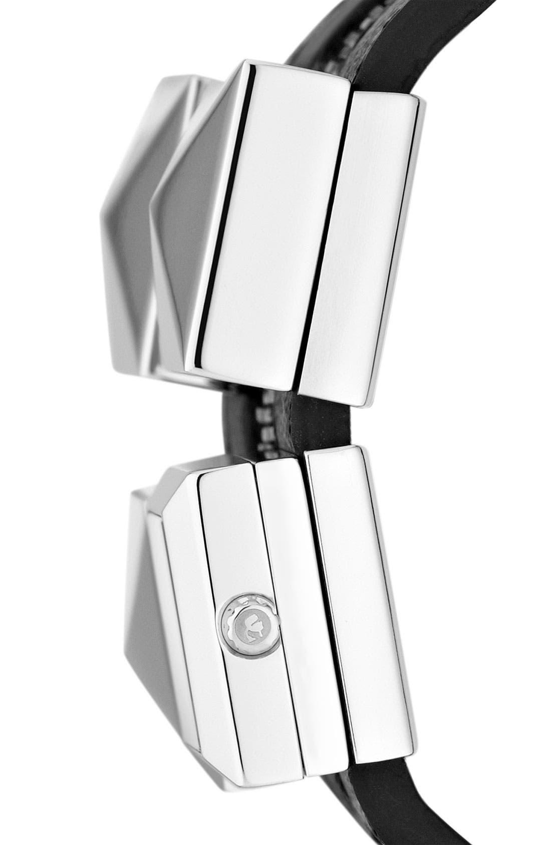 Alternate Image 3  - KARL LAGERFELD Double Strap Cuff Watch, 17mm