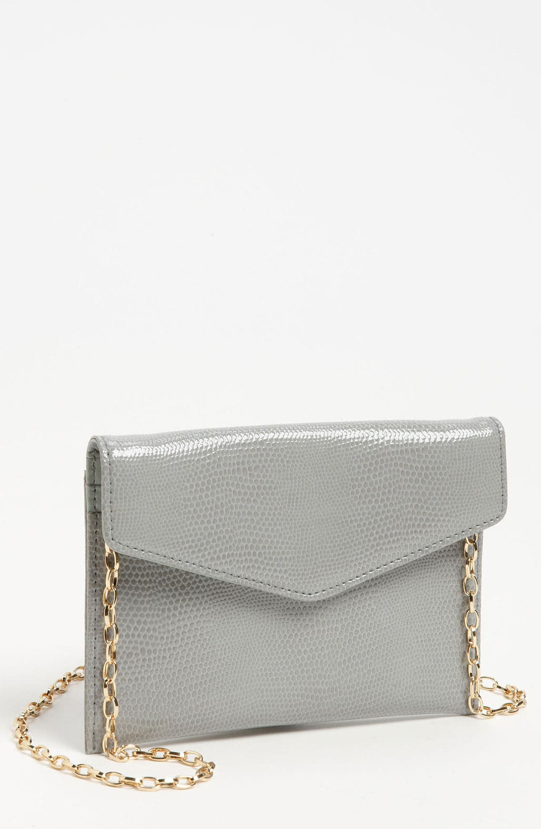 Main Image - Halogen 'Amy' Lizard Embossed Leather Crossbody Bag